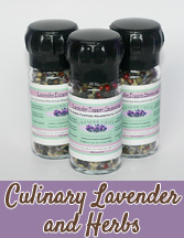 Edible Lavender and Herb Blends From Lavender Green Farm