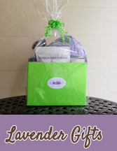 Lavender gifts to soothe that special someone!