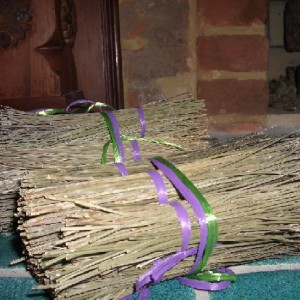 Burn Lavender in Your Grill or Fireplace for a wonderful scent.