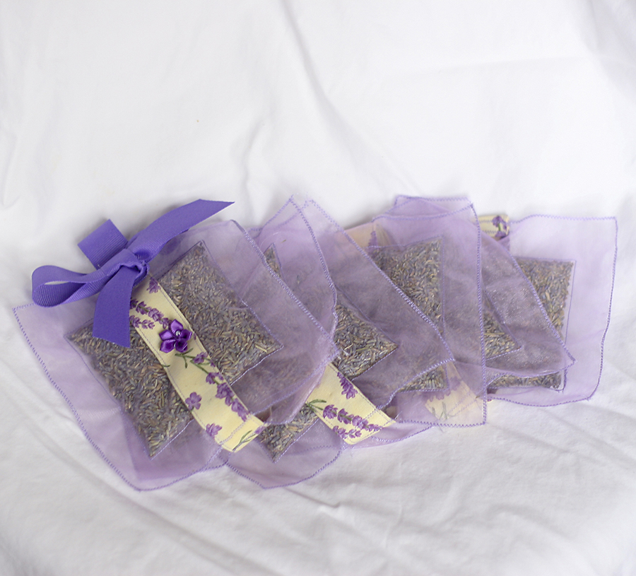 Lavender Sachets By The Yard Lavender Green