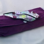 Lavender and Buckwheat-filled Neck Roll Pillow and Sleep Mask Set