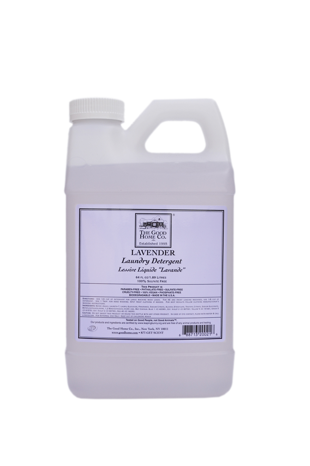Laundry Detergent with the natural scent of lavender