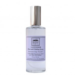 Lavender scented sheet spray