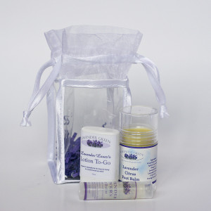 Contents of TLC gift set