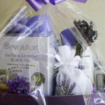 Lavender Gift Basket – Medium Size