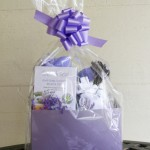 Lavender Gift Basket – Medium Size - front view