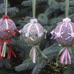 Lavender Christmas Ornament Kit