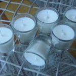 "Lavender Votive ""Shot"" Candles"