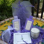 "Lavender ""Take Out"" Wedding Favor"