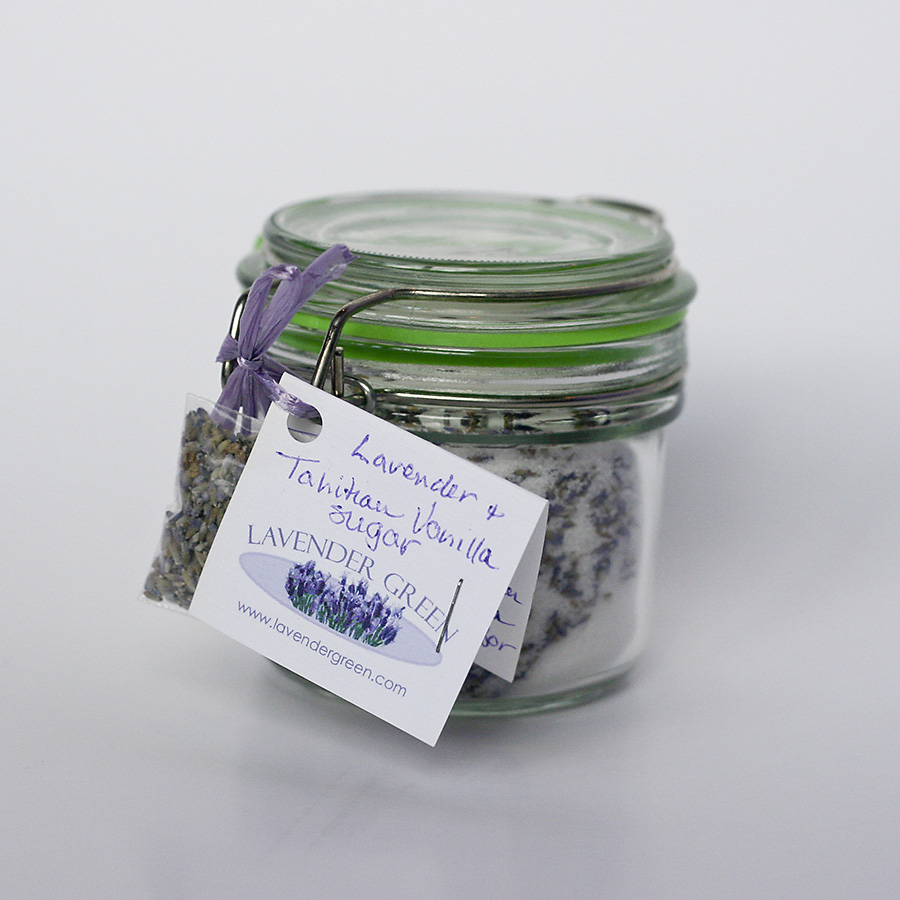 Jar of Lavender Vanilla Sugar
