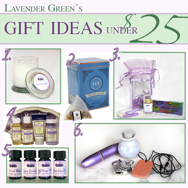 Lavender Gift Ideas Under $25