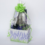 Gift basket full of culinary lavender essentials
