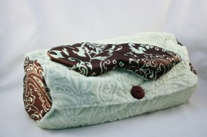 Lavender and Buckwheat Pillow with Lavender Sleep Mask