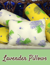Soothing Lavender Filled Pillows