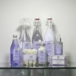 Lavender Cleaning Supplies