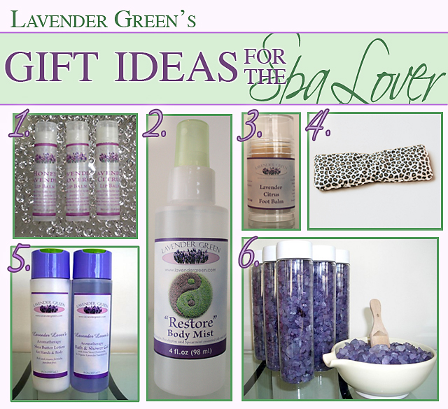 Lavender Spa Gift Ideas